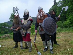 Live Action Roleplaying (LARPs) avoid the same struggles of planning & timing vs. tabletop RPGs. Photo courtesy of http://club-traumtaenzer.de/key/RollenspielCo-LARP-WasistLARP.htm
