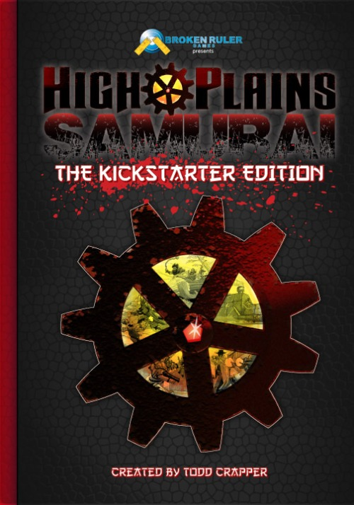 High Plains Samurai available now on Kickstarter