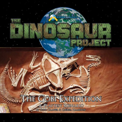 Cover for the Dinosaur Project: The Gobi Expedition playtest.